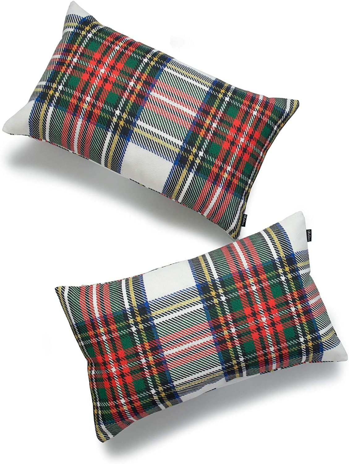 Stewart Plaid pillow covers