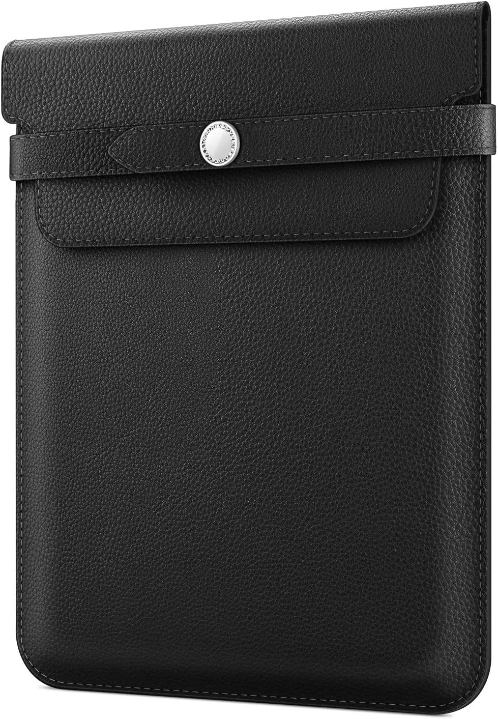 Fintie 9-11 Inch Tablet Sleeve with Stylus Holder, Protective Cover Case Compatible with iPad Pro 11 2020/2018, iPad 10.2, iPad Air 3rd/Pro 10.5, iPad 6th/5th Gen, Samsung Tab A 10.5/S4 10.5, Black