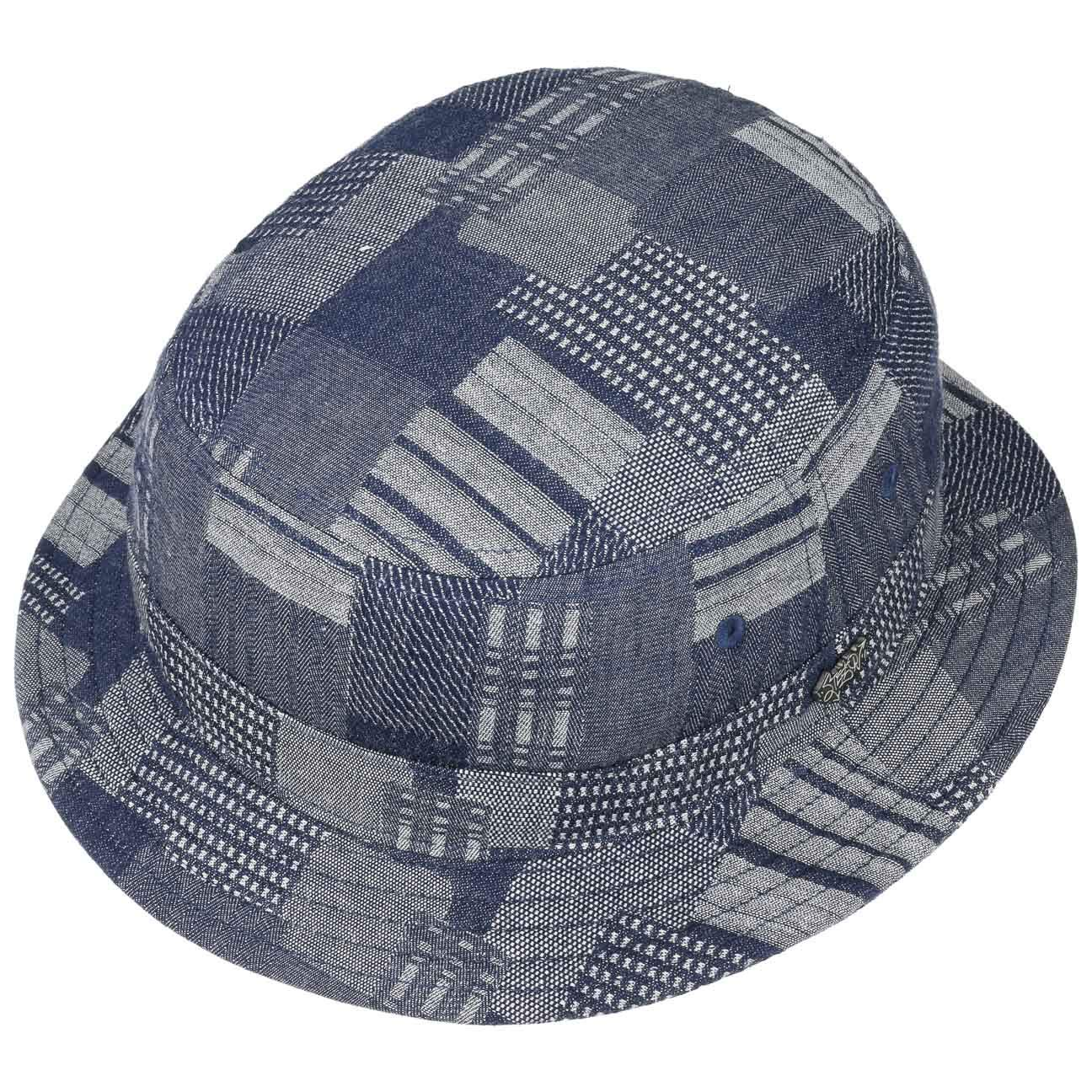 cd21ca8bcb3660 Stetson Denim Patchwork Bucket Hat Sun: Amazon.co.uk: Clothing