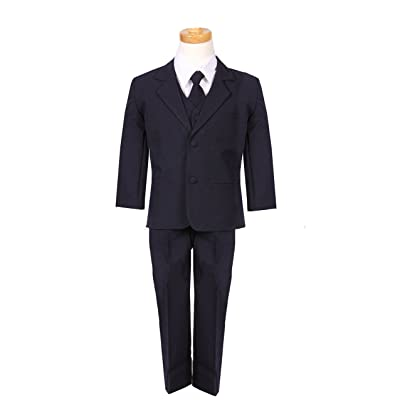 Classic cut NAVY Boys Formal suit with Matching Tie and Shirt
