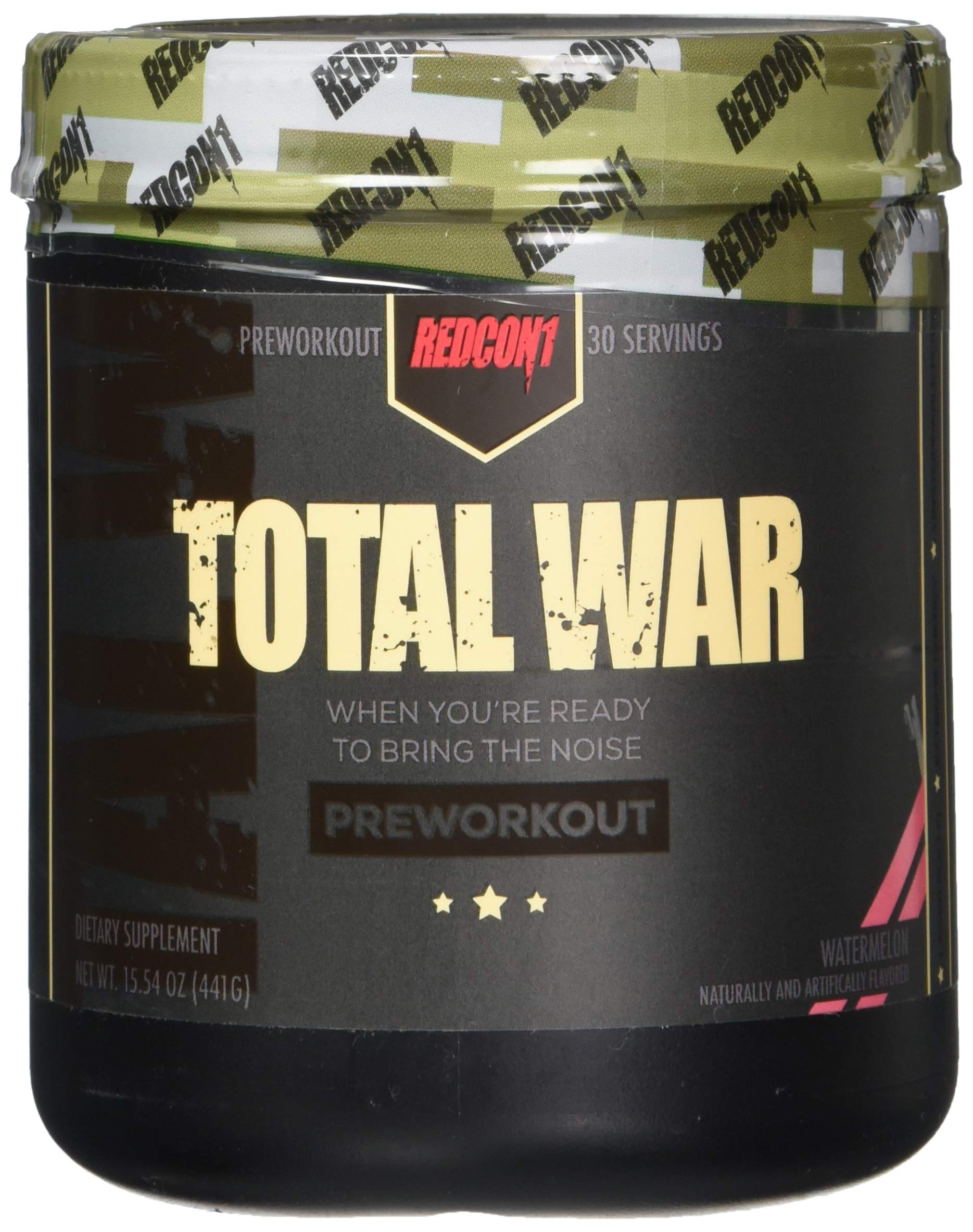 Total War - Pre Workout - 30 Servings - Newly Formulated (Watermelon)