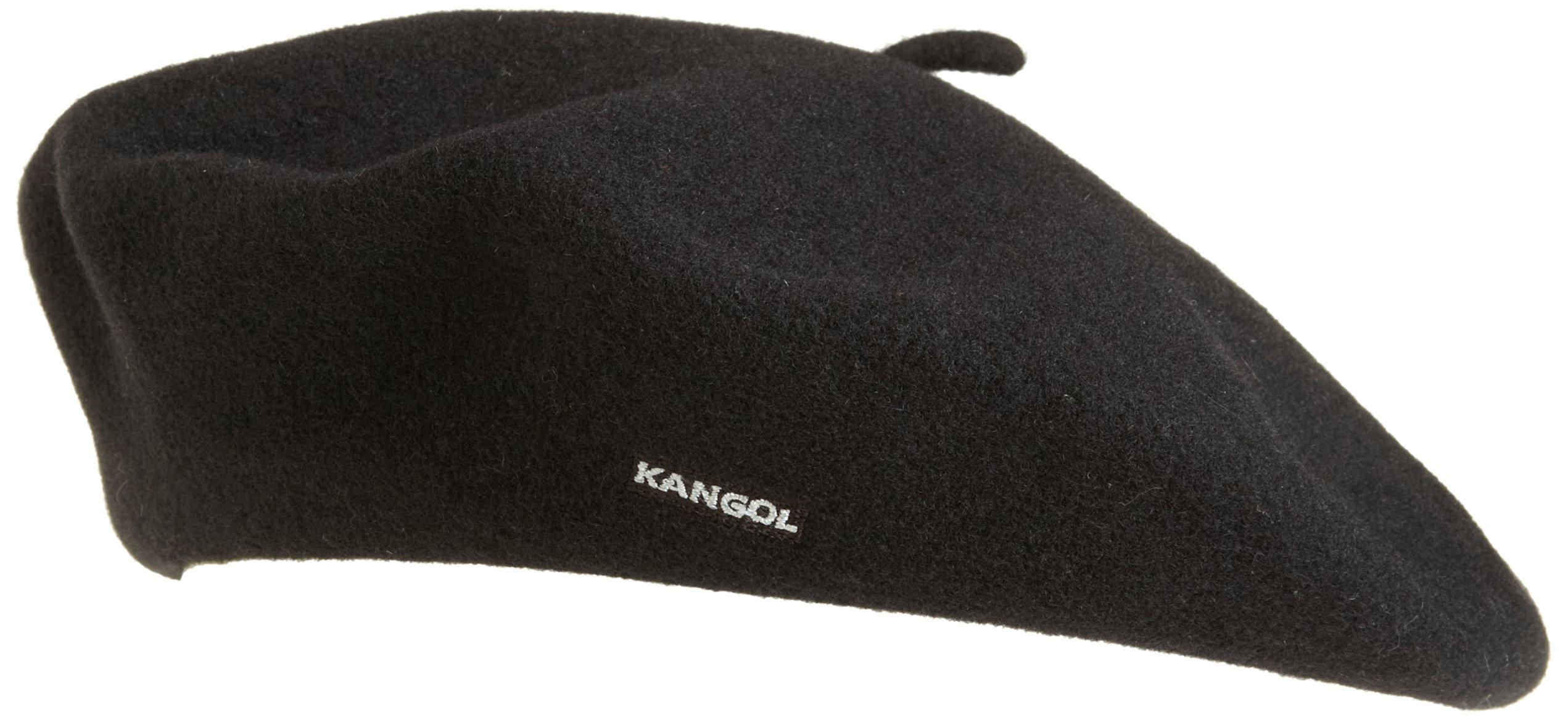 Kangol Women's Modelaine Beret, Black, 1SFM