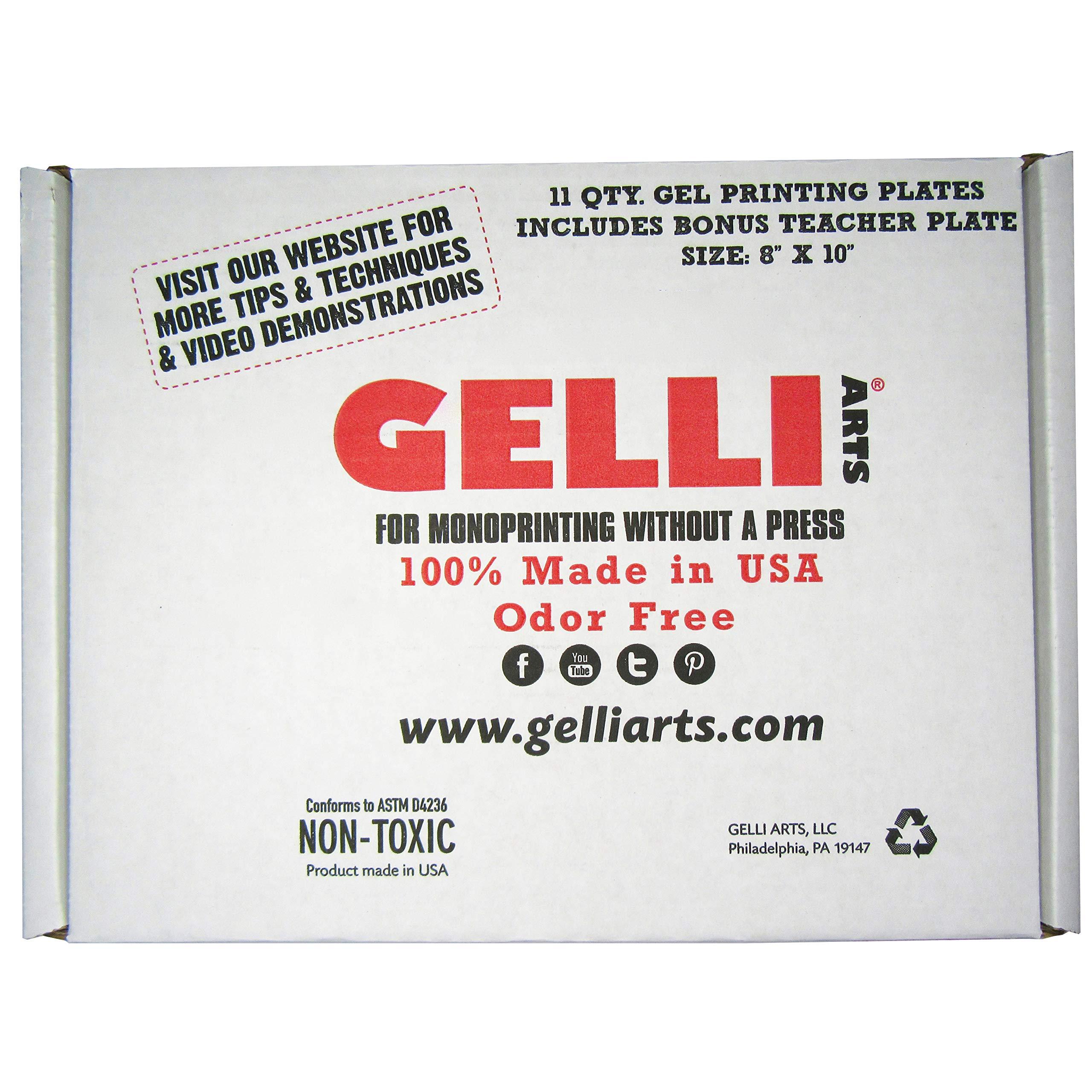 Plancha de Gel para Impresiones GELLI ARTS 20x25cm x 11