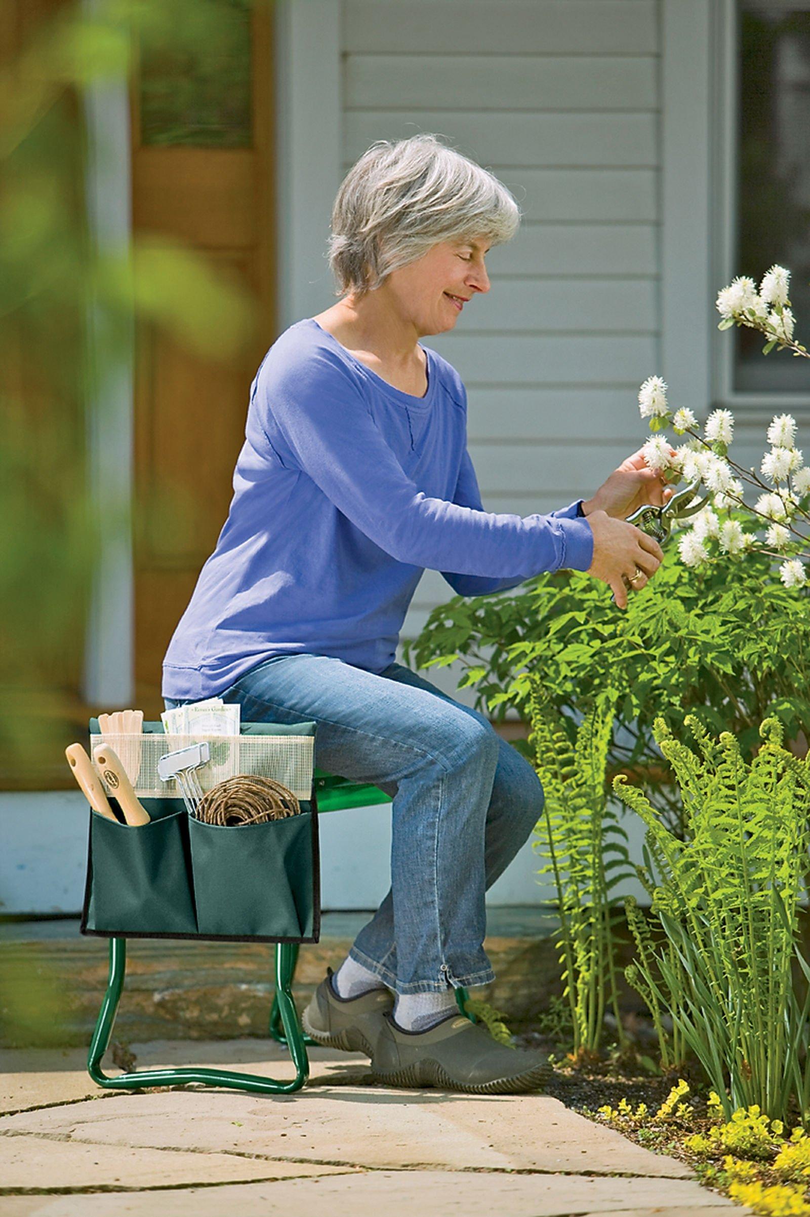 Gardener's Supply Company Wide-Seat Kneeler Tool Pouch by Gardener's Supply Company (Image #1)