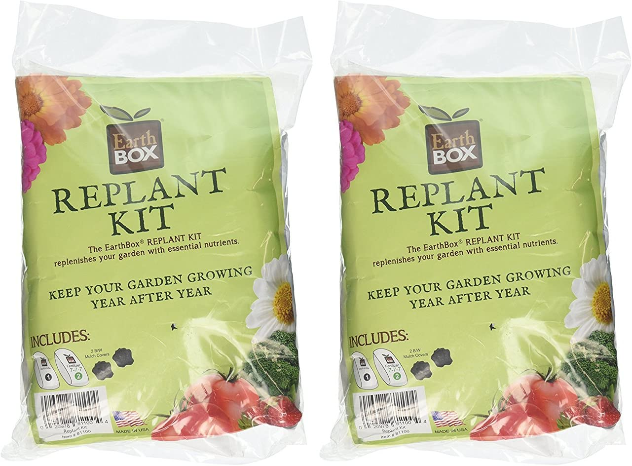 Earthbox 81100 Replant Kit Pack of 2