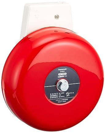 Amazon | パナソニック(Panasonic) 6型警報赤ベルAC100V EA9061 | 産業 ...