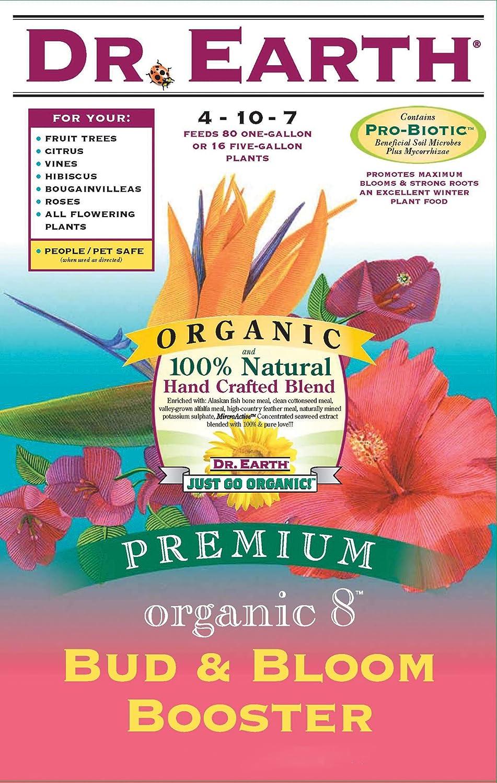 Dr. Earth 707 Organic 8 Bud & Bloom Fertilizer, Boxed, 4-Pound