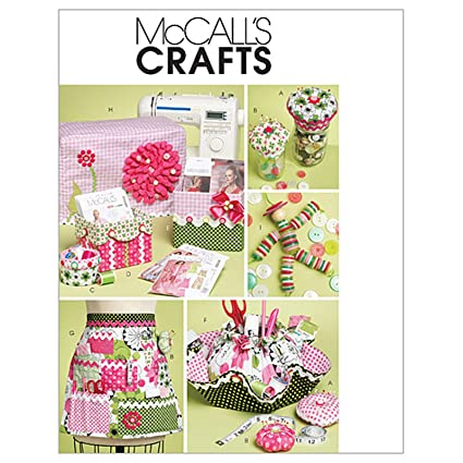 Amazon.com: McCall\'s Sewing Machine Cover Pattern Boxes Container ...