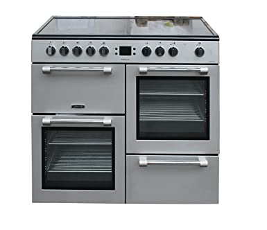 Range Cooker leisure ck100c210s cookmaster 100cm electric range cooker silver