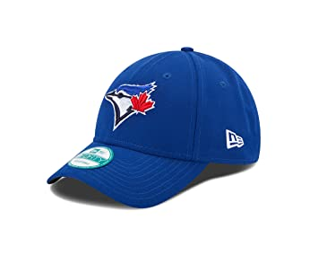 uk availability b6426 dd7ec New Era MLB The League Toronto Blue Jays Game 9Forty Adjustable Cap, Royal,  Baseball Caps - Amazon Canada