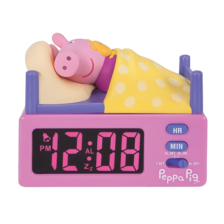 Peppa Pig 10506 Alarm Clock JAZWARES
