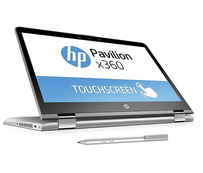 HP Pavilion x360 14-ba019ng (14 Zoll FHD Touchscreen) Convertible Laptop (Intel Core i5-7200U, 8GB RAM, 256GB SSD, Intel HD-G