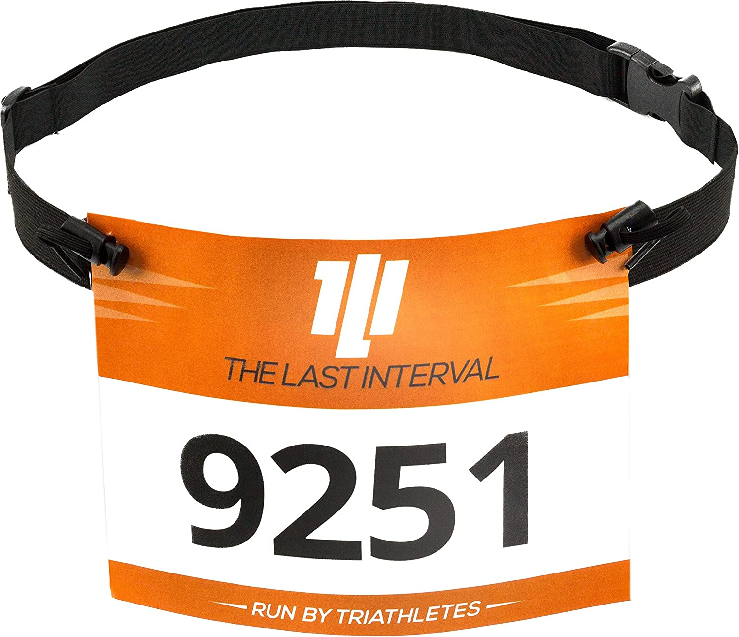 TLI Race Belt for Running, Cycling, Triathlon – Lightweight – Race Day Ready Triathlon Race Belt Designed for Speed, Ease of Use, and Convenience