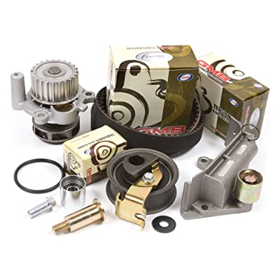01-06 Audi Volkswagen Turbo 1.8 DOHC 20V Timing Belt Kit w/ Hydraulic Tensioner Water Pump