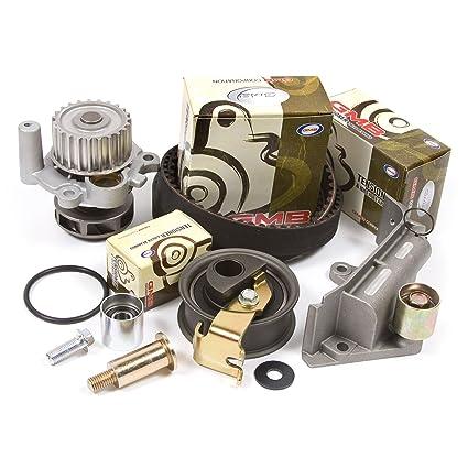 Amazon.com: 99-00 Volkswagen Turbo 1.8 DOHC 20V Timing Belt Kit w/ Hydraulic Tensioner Water Pump: Automotive