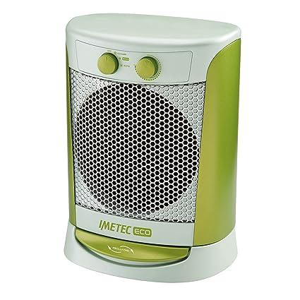 Imetec Eco Scaldabagno.Imetec Eco Silent Diffusion Fh4 300 Termoventilatore Oscillante E Silenzioso A Basso Consumo Energetico 3 Livelli Di Temperatura Termostato Ambiente