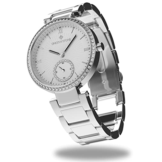 Timothy Stone collection ELLE STAINLESS - reloj mujer de cuartzo, color Plata: Amazon.es: Relojes