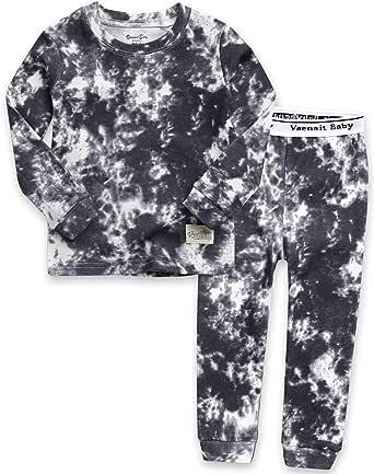VAENAIT BABY 12M-7T Kids Unisex Girls /& Boys Soft Comfy Modal Tencel Sleepwear Pajamas 2pcs Set