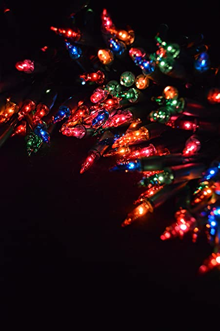 Christmas Fairy Lights Transparent.Kingfisher Fl6 200 Multi Coloured Christmas Fairy Lights