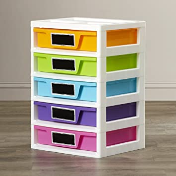 Charming Bright Colors Kaley Toy Storage Drawer Organizer For Kids Of All Ages