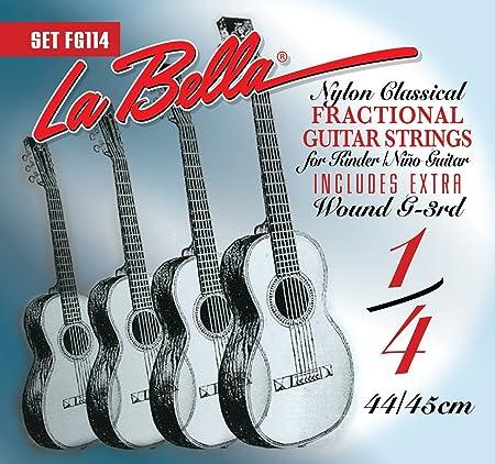 La Bella 224529 FG 114 1/4 Guitar: Amazon.es: Instrumentos musicales