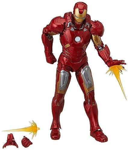 figura iron man mark vii marvel 10th anniversary amazon com mx