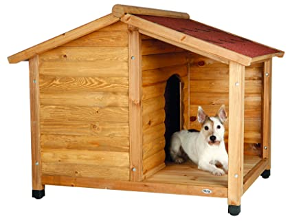 1bf4814abe2c Amazon.com : TRIXIE Pet Products Rustic Dog House, Small : Trixie ...