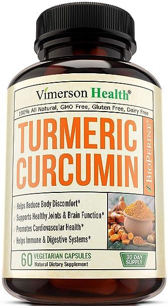 Best Turmeric Supplement 2019 Amazon.com: Turmeric Curcumin with Bioperine Joint Pain Relief