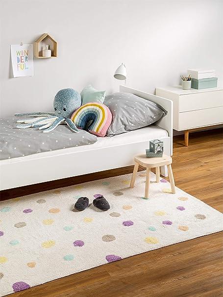 benuta Bambini Dots - Alfombra Infantil, algodón, Beige, 150x225 cm: Amazon.es: Hogar