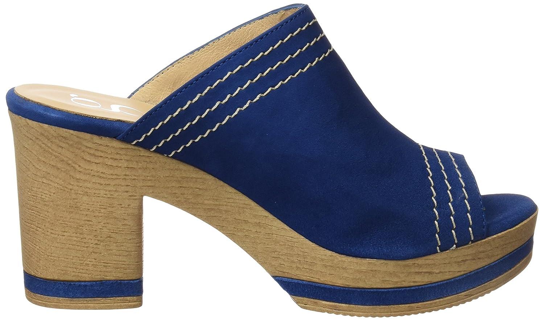 Gadea 40669, Zuecos para Mujer, Azul (Ante Ink), 40 EU