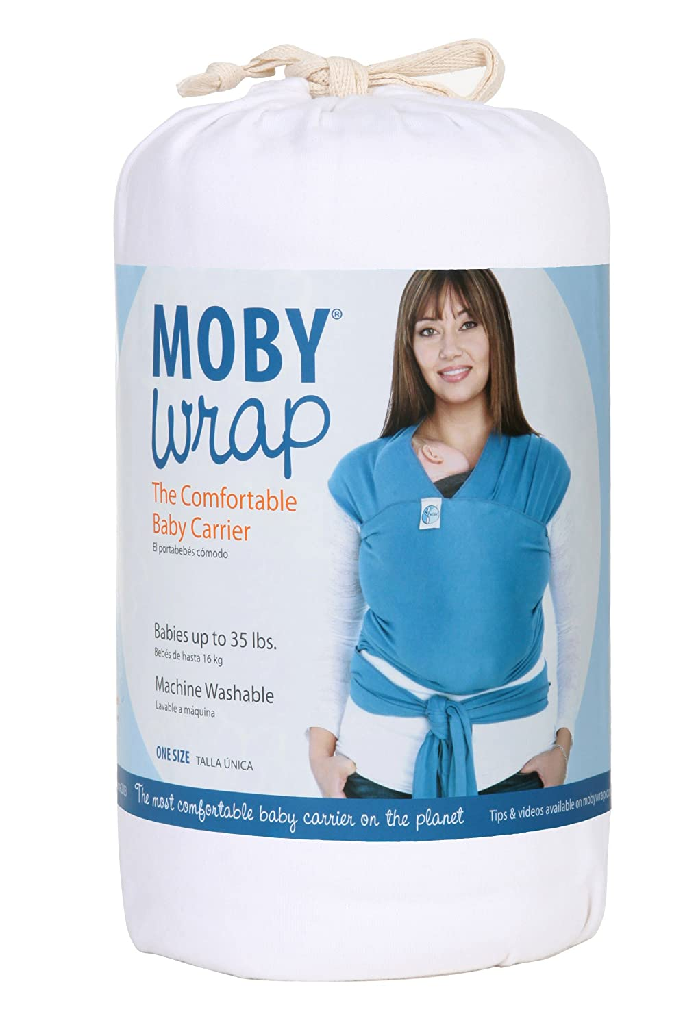 Amazon Com Moby Moby Wrap Uv White Child Carrier Slings Baby