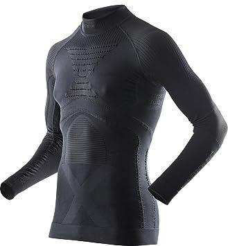 b4b8b17f161 X-Bionic I020218 T-Shirt à Manches Longues avec col Montant Homme ...