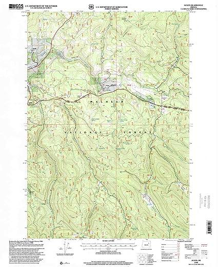 Amazon Com Yellowmaps Austin Or Topo Map 1 24000 Scale 7 5 X 7 5