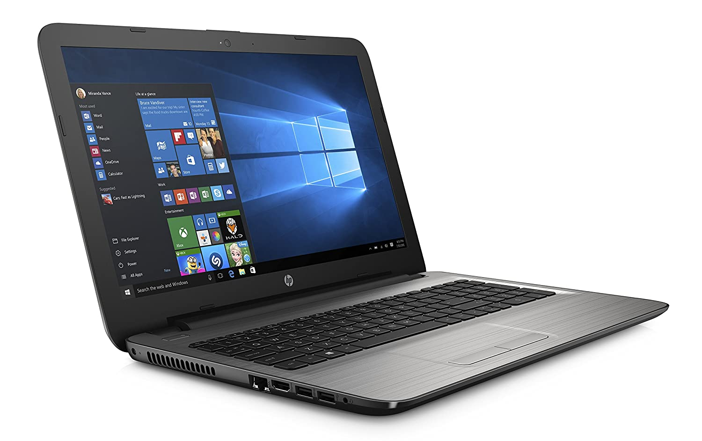 HP 15-ay000nl Notebook, Intel Celeron N3060, RAM 4 GB, disco duro 500 GB, tarjeta gráfica Intel HD 400, pantalla 15.6, Plata: Amazon.es: Informática