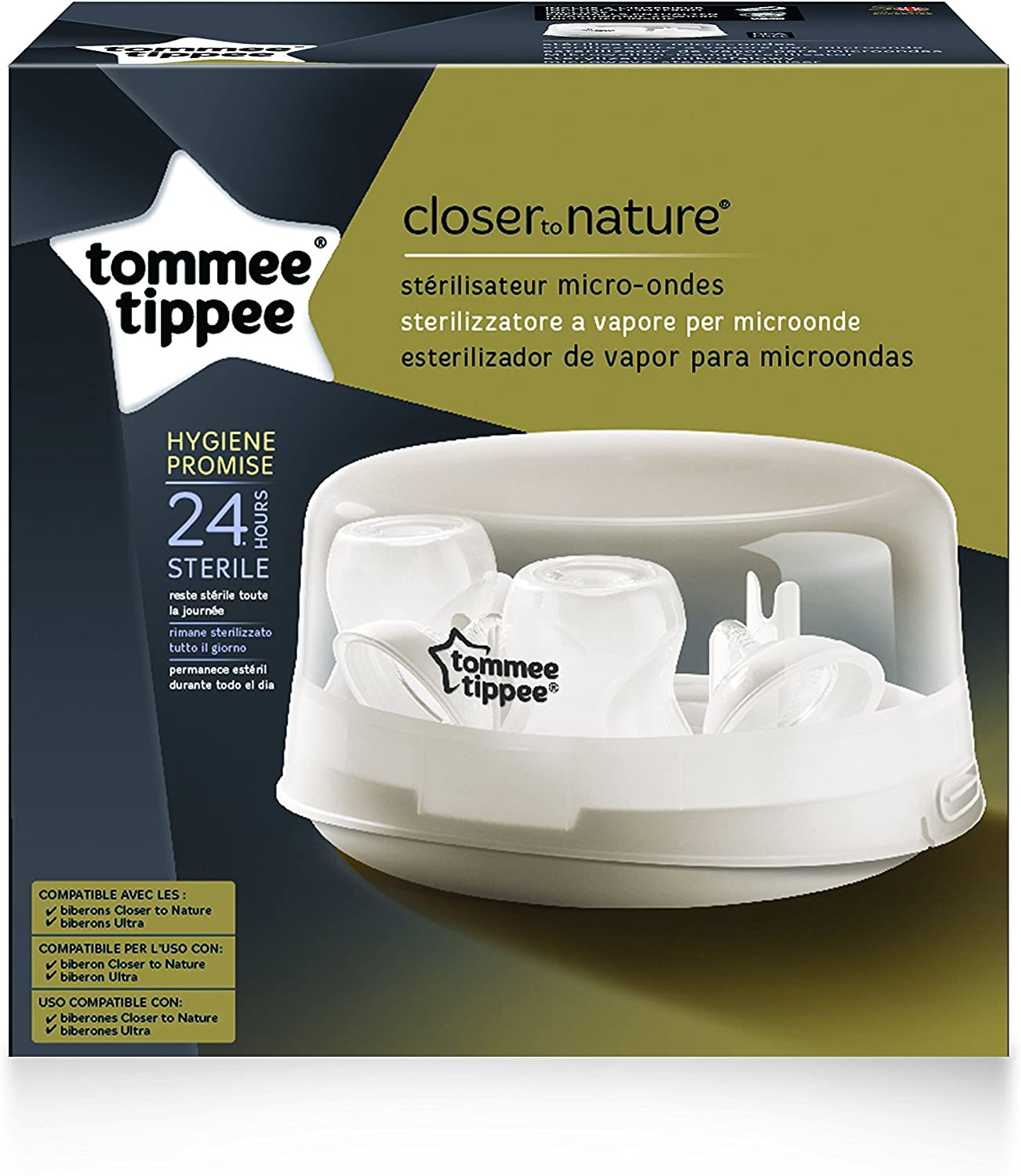 Tommee Tippee Closer to Nature - Esterilizador de vapor para ...