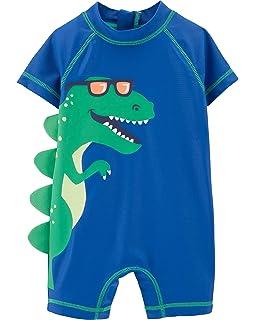 75e8346c8 Amazon.com  Carter s Baby Boy s Giraffe Long Sleeve Rashguard and ...