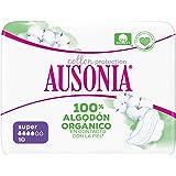 Ausonia Cotton Protection Noche (tamaño 3) Compresas Con Alas, 9, Capa Superior De Algodón 100 % Orgánico: Amazon.es: Salud y cuidado personal