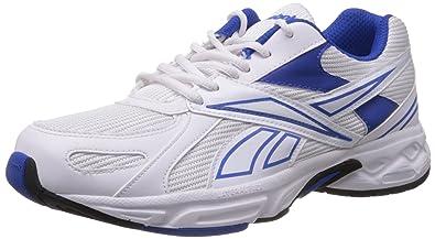 Le Acciomax Des Hommes Reebok Iii Lp Blanc Et Bleu Marine Maille Chaussures De Course OKik1DNOR