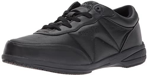 Propet Women's Washable Walker Shoe, SR Black, 5 Medium US