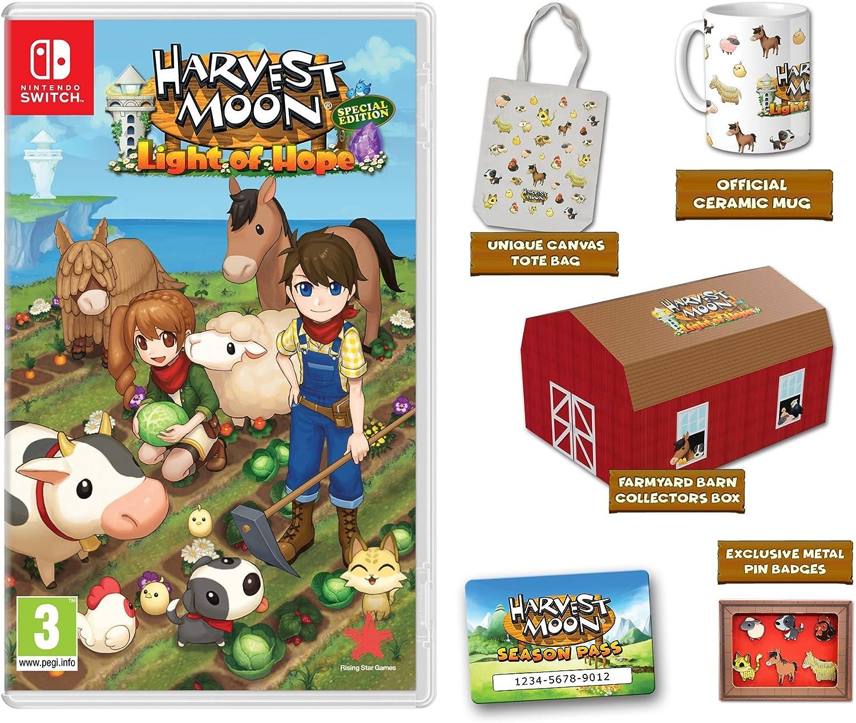 Harvest Moon: La luz de la esperanza Edición Coleccionista ...