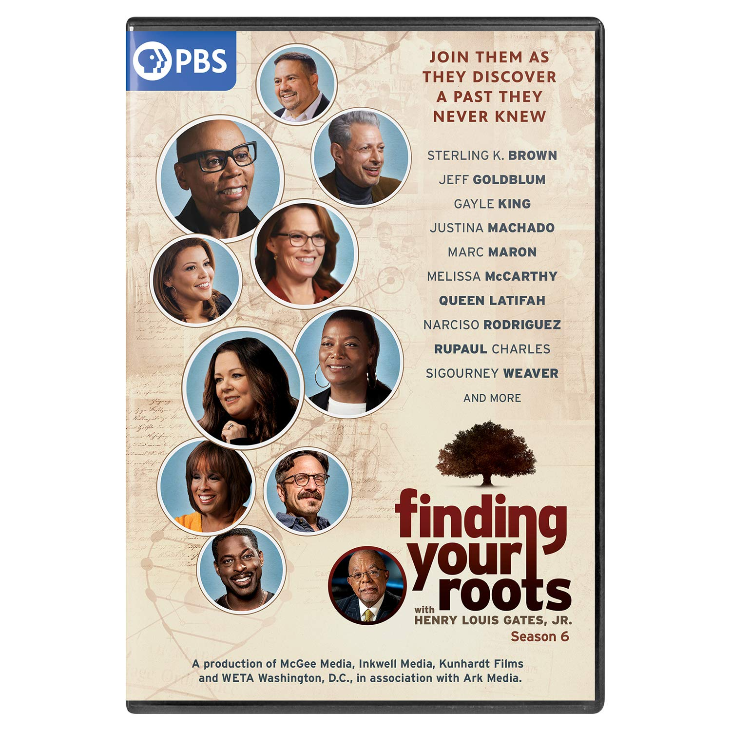 Book Cover: Finding Your Roots: Season 6