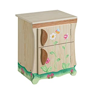 Teamson Kids - Enchanted Forest Wooden Play Kitchen - Fridge