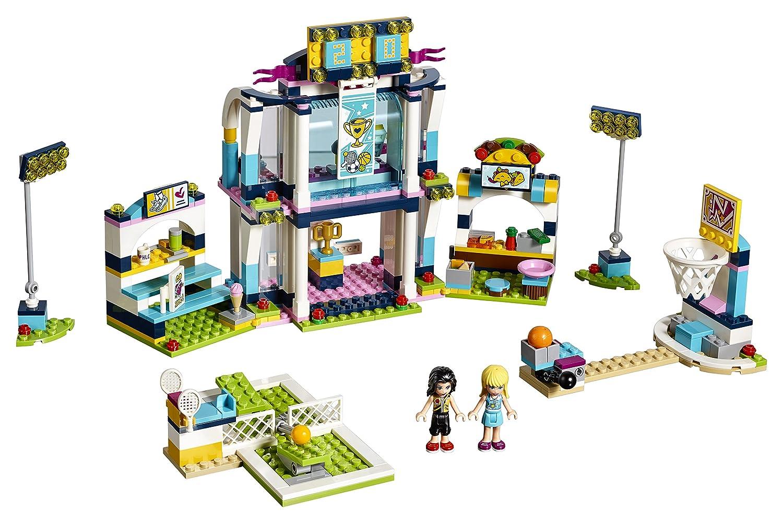 Amazoncom Lego Friends Stephanies Sports Arena 41338 Building Set