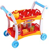Amazon Com Disney Belle S Enchanted Deluxe Tea Cart Play
