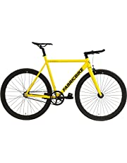 "FabricBike Light - Bicicleta Fixed, Fixie, Single Speed, Cuadro y Horquilla Aluminio, Ruedas 28"", 4 Colores, 3 Tallas, 9.45 kg Aprox."