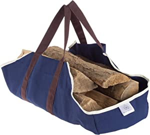 Pure Garden 50-211 Log Carrier Tote for Firewood