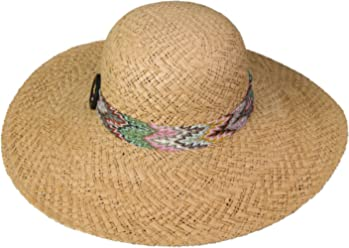 54eb059f249 Broner Ladies Big Brim Sun Hat with Patterned Band