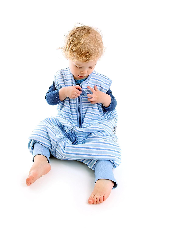Amazon.com: SlumberSafe Summer Sleeping Bag with Feet Early Walker 2.5 Tog, Blue Stripes, 18-24 months: Baby