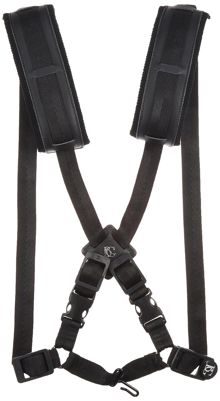 BG S40CM Men's Alto/Tenor/Baritone Saxophone Comfort Harness with Metal Hook