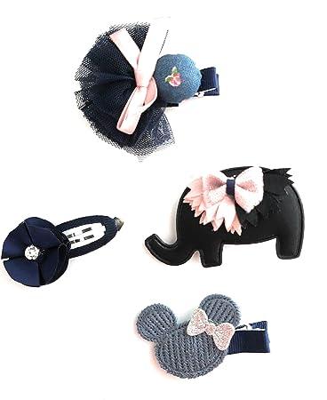 3Pcs Girls Kids Headwear Love Elastic Hair Band Clips Gift Hair Accessories Chic